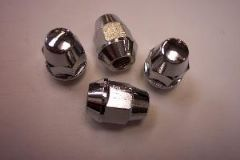 WH. Chrome Wheel nuts, Quadzilla RS6 EFi, etc. (set of 4)